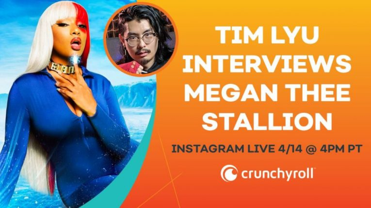 12 megan thee stallion anime facts crunchyroll livestream 12 anime highlights from megan thee stallion revealed by crunchyroll s live stream