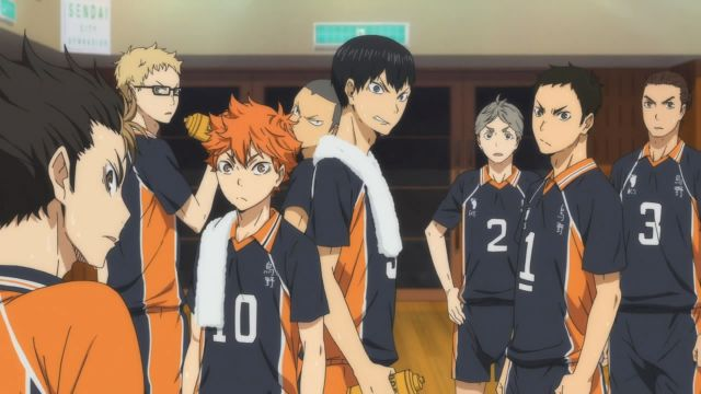 haikyuu series