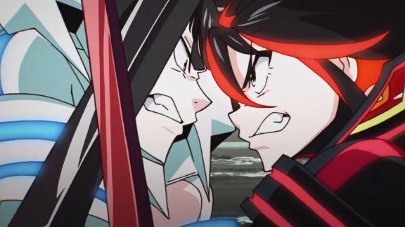 kill la kill satsuki vs ryuko