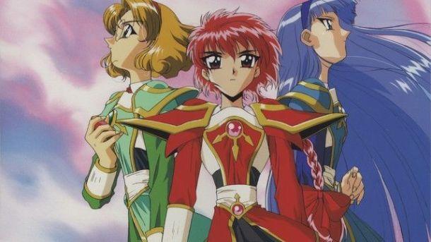 magic knight rayearth girls