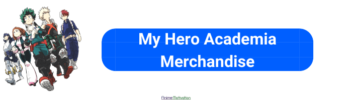 mha anime merch anime motivation