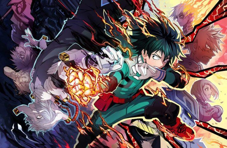 mha anime wallpaper deku