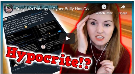 suzy lu cyber bully past