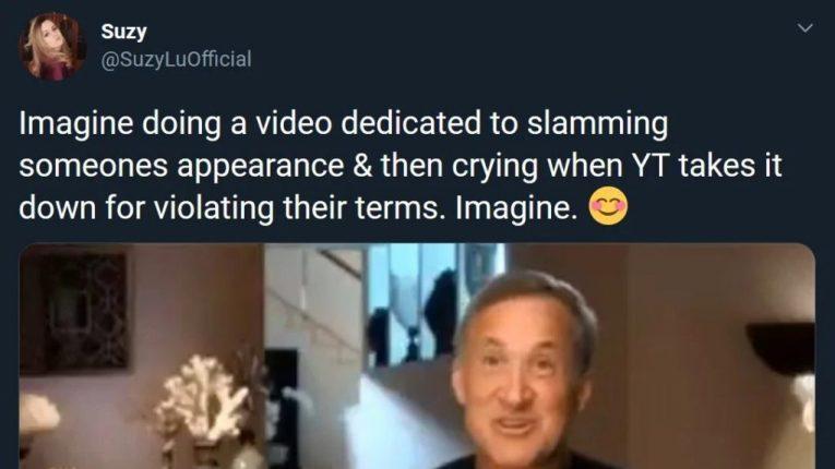 suzy lu hypocrisy