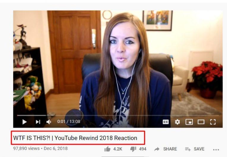 youtube rewind 2018 suzy lu
