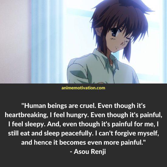 Asou Renji quotes