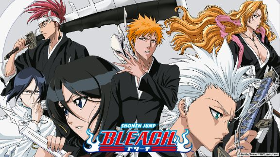 Bleach anime characters soul reapers