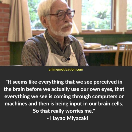 Hayao Miyazaki quotes 20