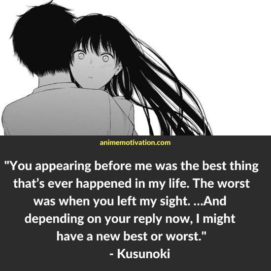Kusunoki three days of happiness quotes 1