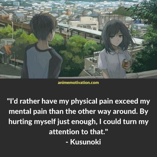 Kusunoki three days of happiness quotes 3