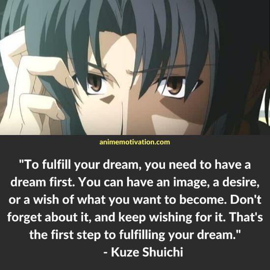 Kuze Shuichi quotes