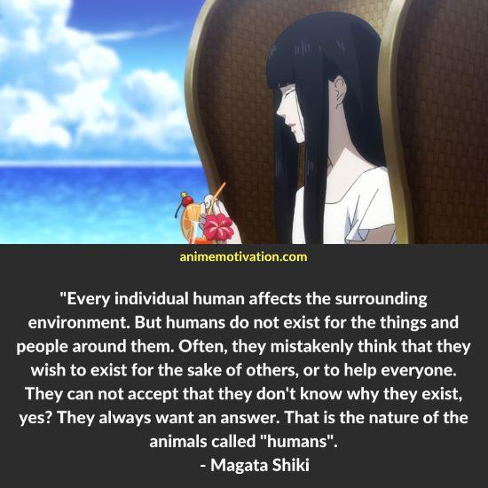 Magata Shiki quotes