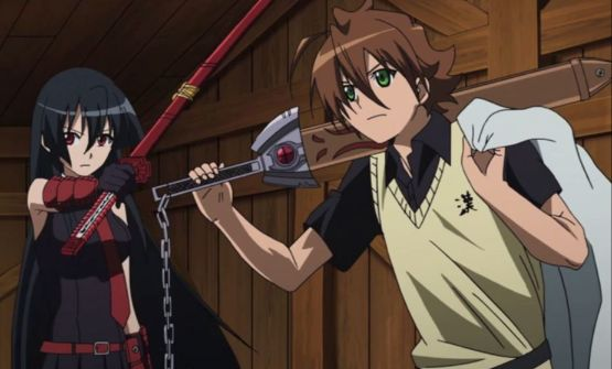 akame ga kill tatsumi and akame sword