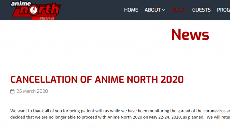 anime north cancelled