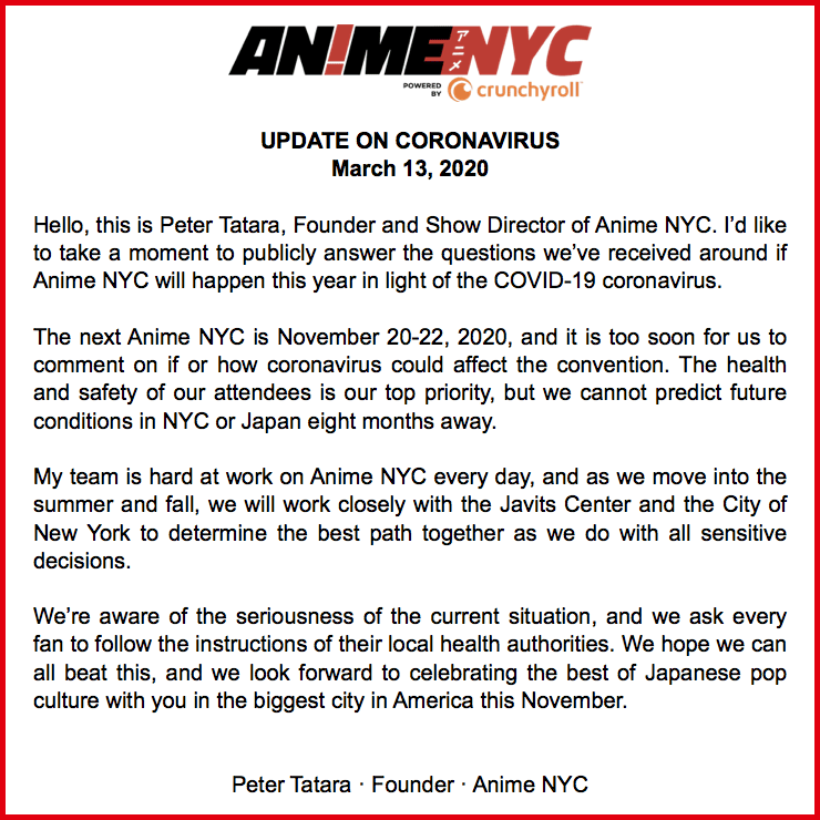 anime nyc corona cancelled