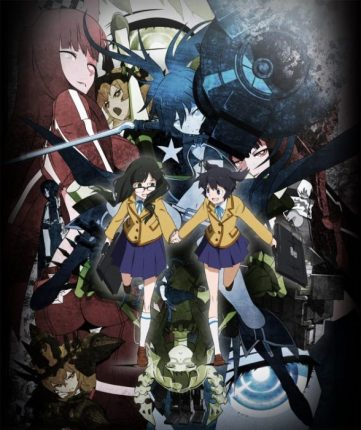 black rock shooter anime cover