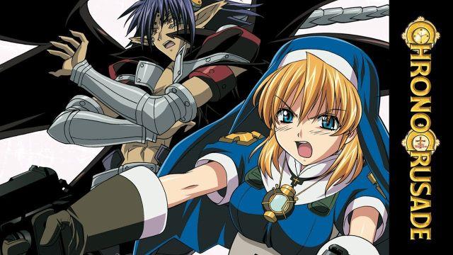 chrono crusade rosette anime characters