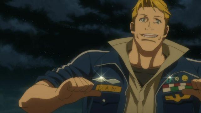 dan eagleman american anime character