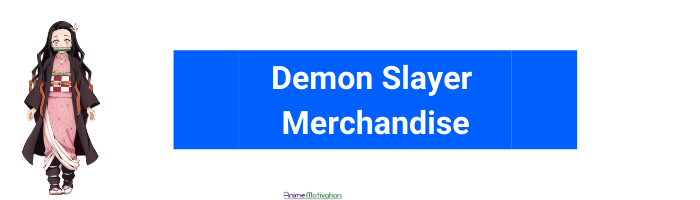 demon slayer anime merch anime motivation