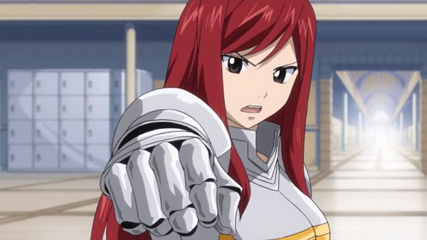 erza scarlet fist knight armor