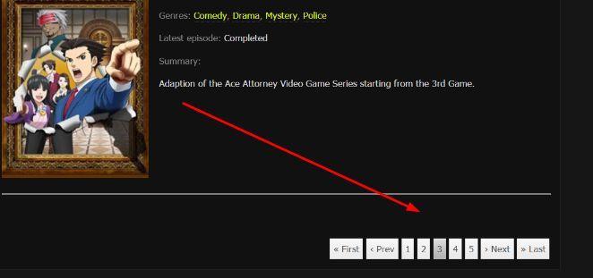 kissanime pages
