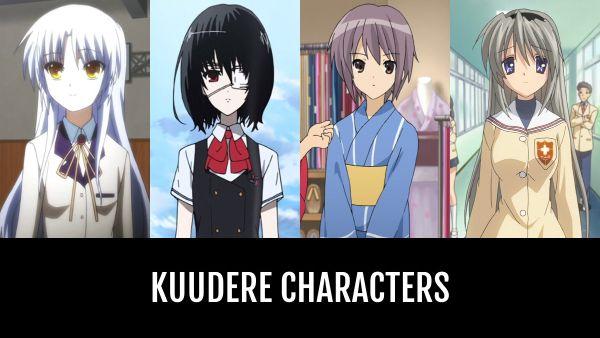 kuudere anime characters