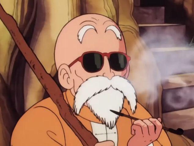 master roshi dragon ball character   7 Anime Characters Who Are Just Like #JoeBiden