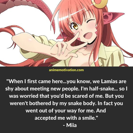 miia monster musume quotes