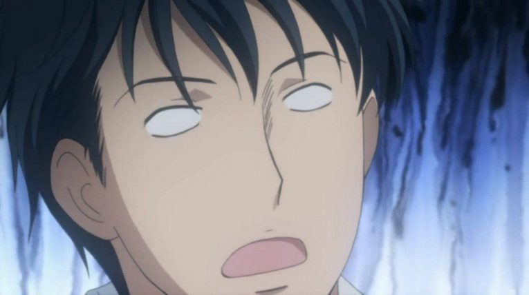 shinichi chiaki shocked face funny