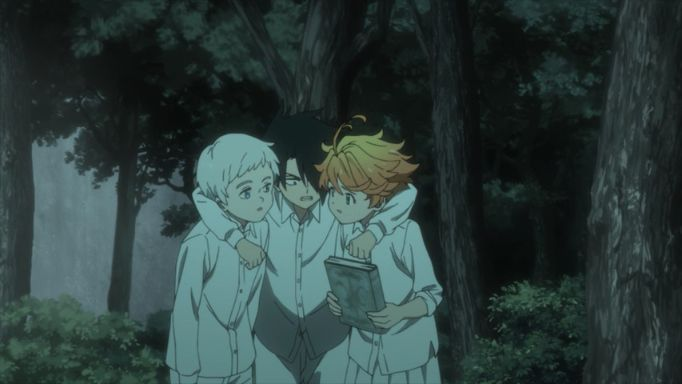 the promised neverland protagonists
