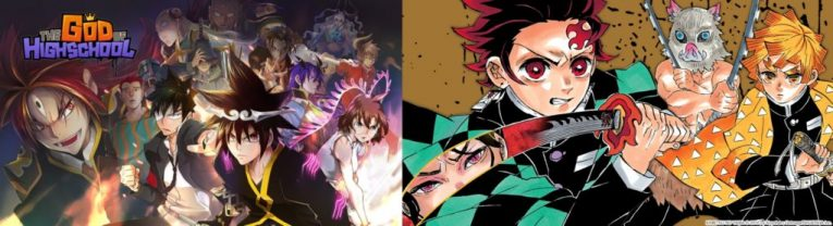 webtoon and manga