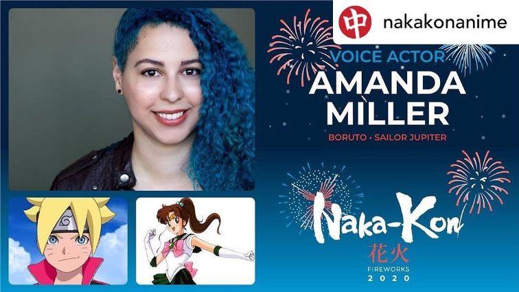 Amanda C. Miller anime voice actress