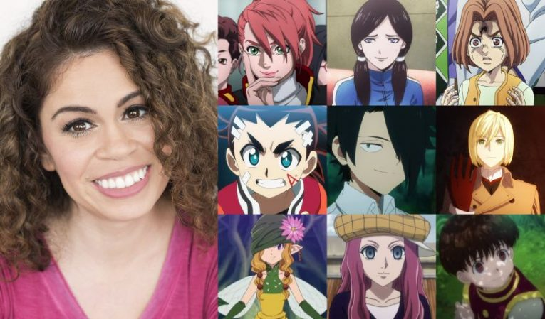 Laura Stahl anime voice actress