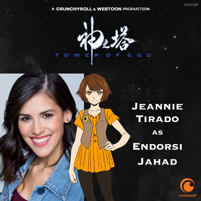 Interview With Jeannie Tirado On COVID-19, Anime Voice Acting + More!