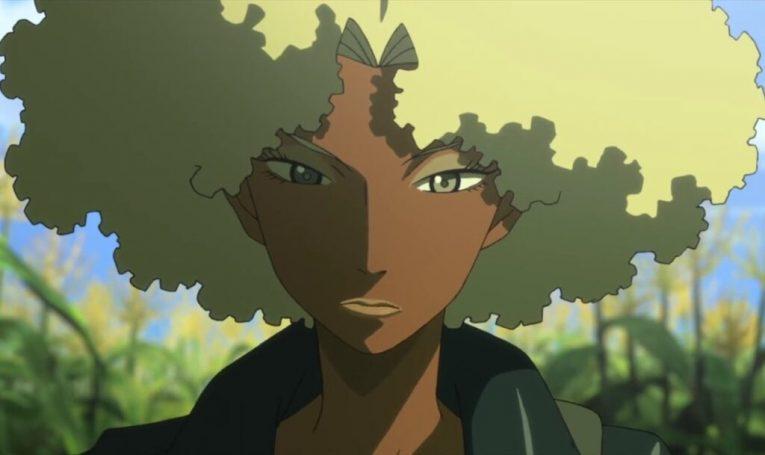 atsuko jackson anime girl black