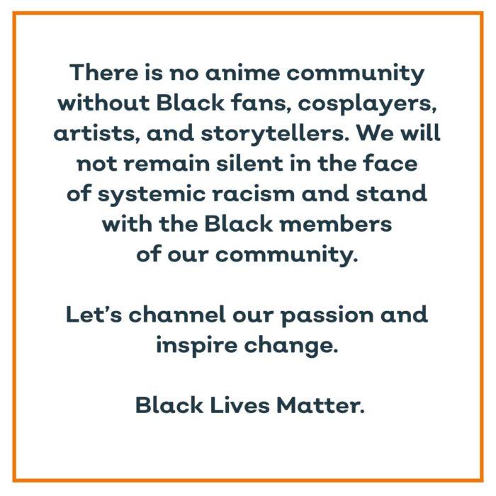 black lives matter crunchyroll