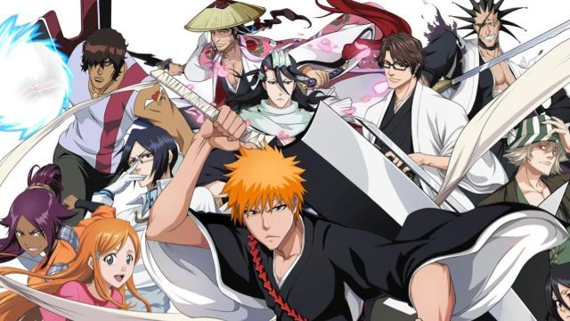 bleach anime ichigo and soul reapers