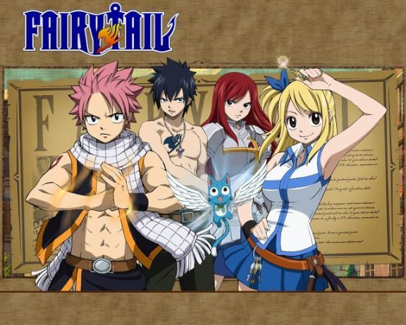 fairy tail main protagonists