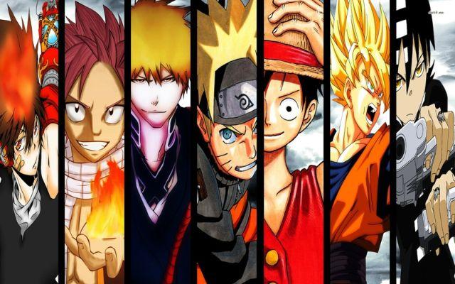 mainstream anime shows 1