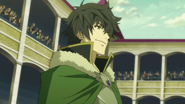 naofumi smiling shield hero