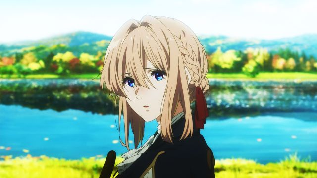 violet evergarden beautiful scene