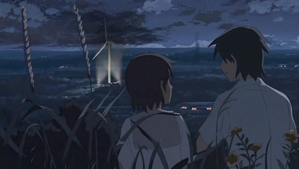 5 centimeters per second anime characters sitting down