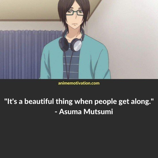 Asuma Mutsumi quotes