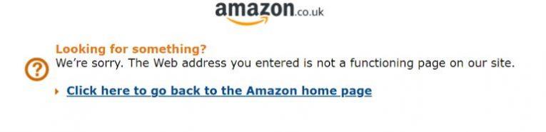 amazon uk sorry page