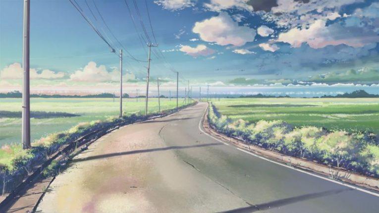 anime road 5 centimeters per second