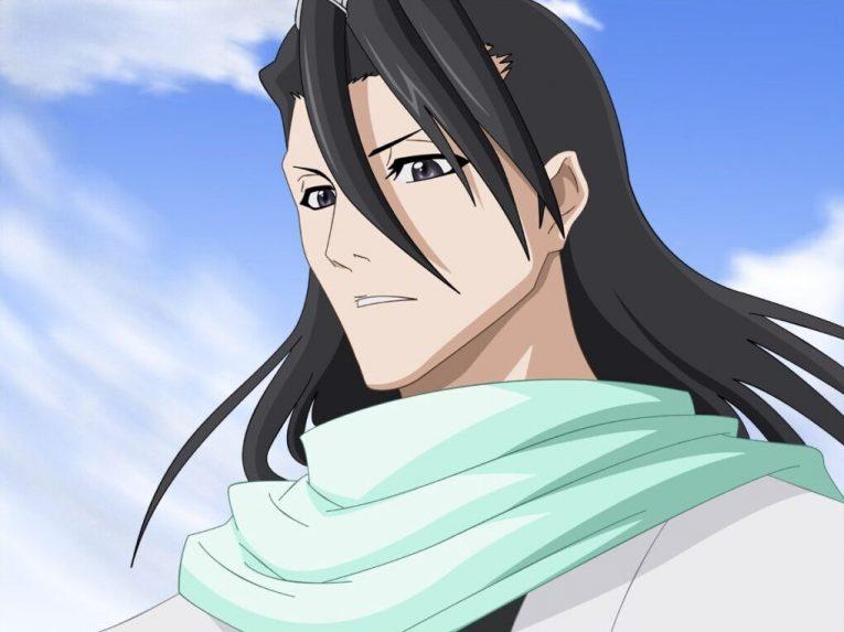 byakuya kuchiki long black hair bleach e1594638660537