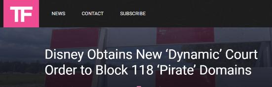 disney block anime pirate sites india 1