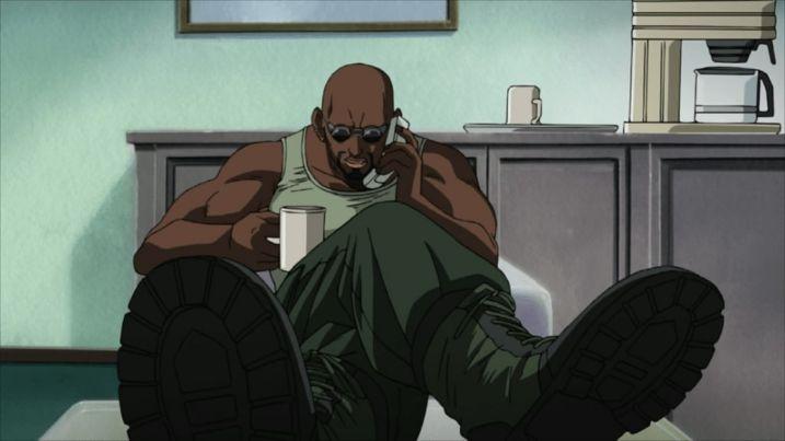 dutch black lagoon on the phone