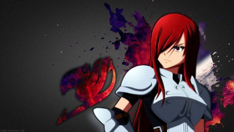 erza scarlet anime wallpaper fairy tail
