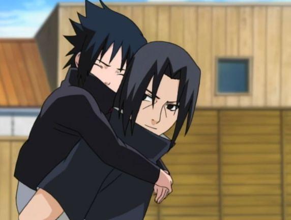 itachi and sasuke brothers
